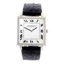 VACHERON CONSTANTIN - a 18ct white gold wrist watch.