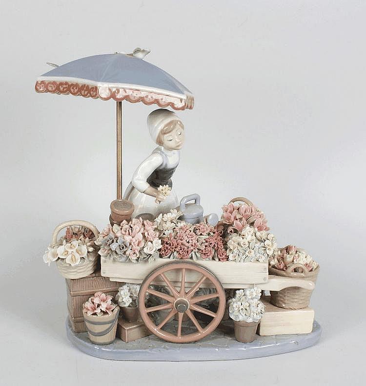 A Lladro porcelain ornament