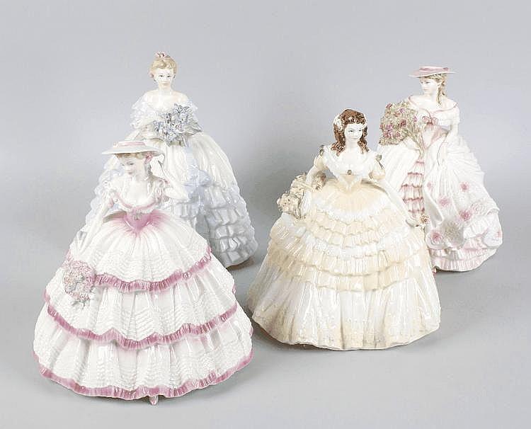 Four Coaport ladies