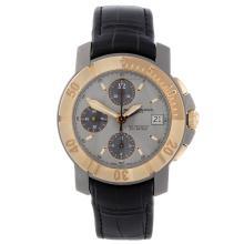 BAUME & MERCIER - a gentleman's Capeland chronograph wrist watch. Titanium