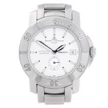 BAUME & MERCIER - a gentleman's Capeland bracelet watch retailed by Tiffany