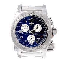 BREITLING - a gentleman's Emergency Mission chronograph bracelet watch. Sta