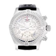 BREITLING - a gentleman's Aeromarine Avenger Sea Wolf chronograph wrist wat