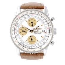 BREITLING - a gentleman's Navitimer chronograph bracelet watch. Stainless s
