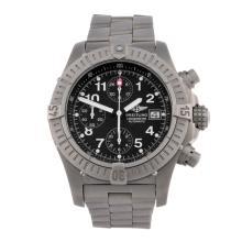 BREITLING - a gentleman's Aeromarine Chrono Avenger chronograph bracelet wa