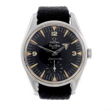 OMEGA - a gentleman's stainless steel Seamaster Ranchero wrist watch