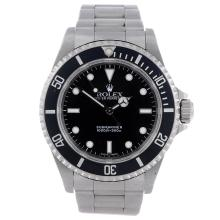 ROLEX - a gentleman's stainless steel Oyster Perpetual Submariner bracelet watch