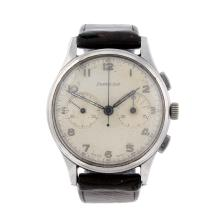 EXCELSIOR PARK - a gentleman's stainless steel chronograph wrist watch