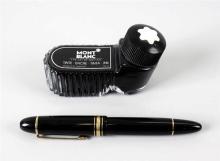 A Montblanc Meisterstuck 149 fountain pen. With 14k bi-colour gold 4810 nib
