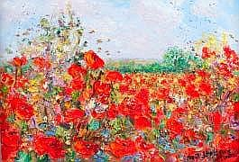 Michael Strang, (b.1942). Oil on canvas. Study of