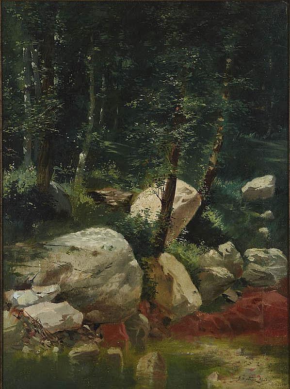JUAN MARTÍNEZ ABADES (Gijón 1862-Madrid 1920)