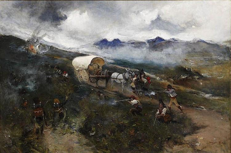 DOMINGO MUÑOZ CUESTA (Madrid 1850 - 1935 )