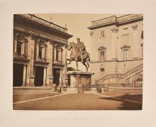AUGUSTE-ROSALIE BISSON Statue de Marc Aurèle
