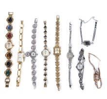 14 KT GOLD FILLED AND COSTUME WATCHES