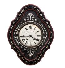 MONTANGERAND FRENCH MOP WALL CLOCK