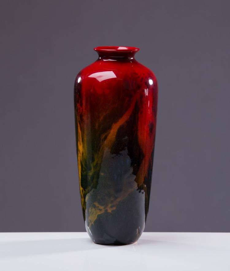 Royal Doulton Flambe Sung Vase