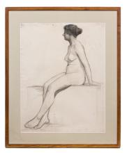 CIMIOTTI GUSTAVE PENCIL ON PAPER DRAWING