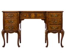 COUNTRY FRENCH 7 DRAWER DESK