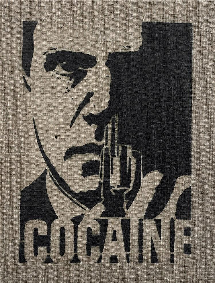 YARPS (Français, né 1966)  - Cocaïne, 2016