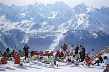 SLIM AARONS - Cortina d'Ampezzo, 1962