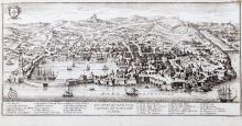Cartography / Salmon, Thomas - The city of Genoa, capital of the Genoese area of Italy