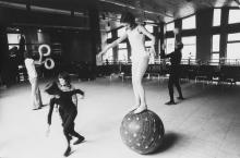 Mario Dondero (1928-2015) - Scuola Nazionale del Circo, 1977