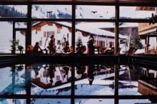 Slim Aarons (1916-2006) - Gasthof Pool, Lech, Austria, 1979