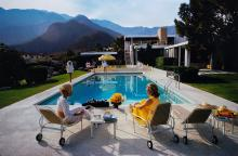 Slim Aarons (1916-2006) - Poolside Glamour, Palm Spring, California, 1970