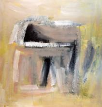 Vasco Bendini (Bologna 1922-Roma 2015) - Dalla serie Ipotesi d'Attesa, 1990
