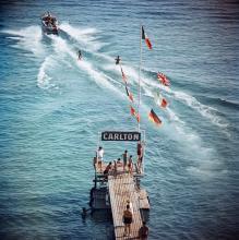 Slim Aarons (1916-2006) - Cannes Watersports, 1958