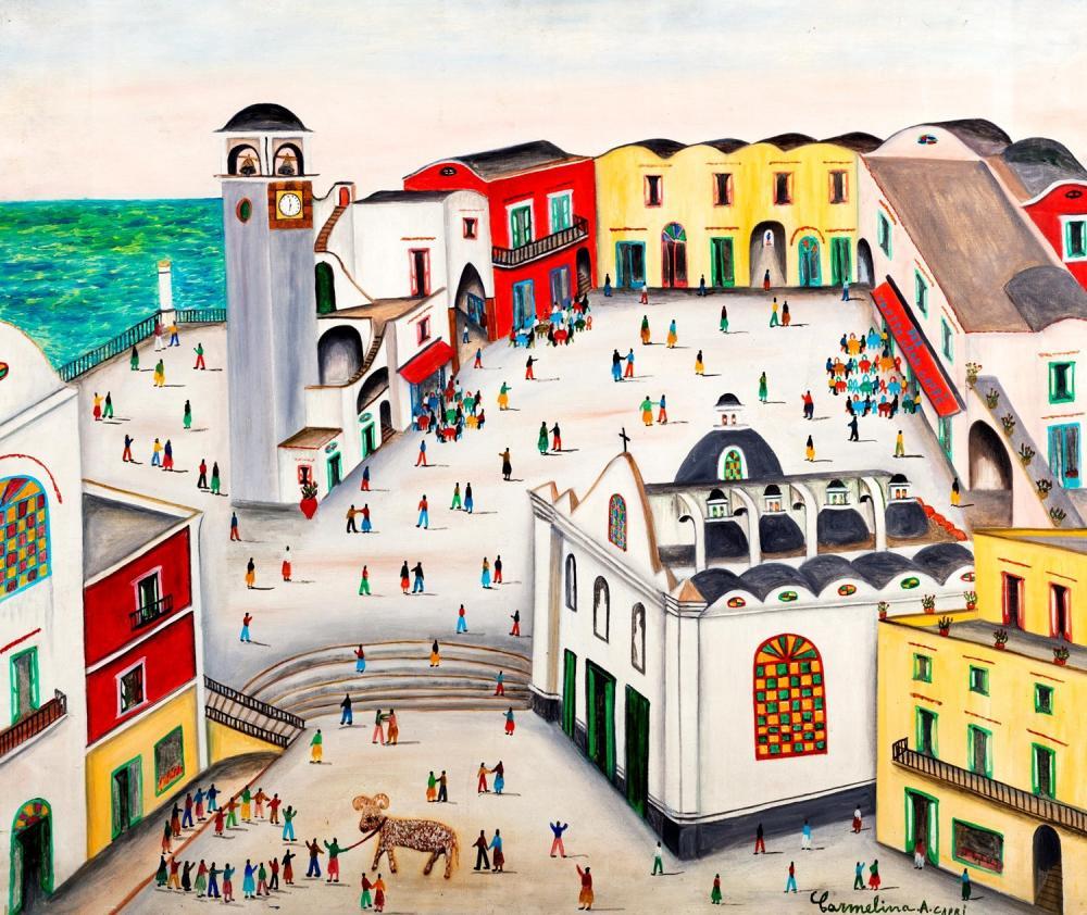 Carmelina di Capri (Capri 1920-2004) - The Aries, 1969