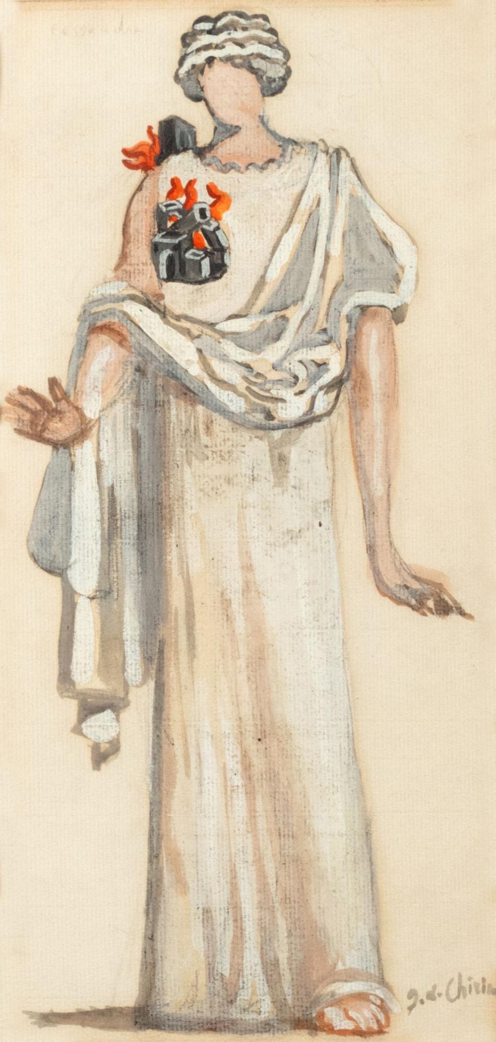 Giorgio de Chirico (Volos 1888-Roma 1978) - Cassandra, 1937