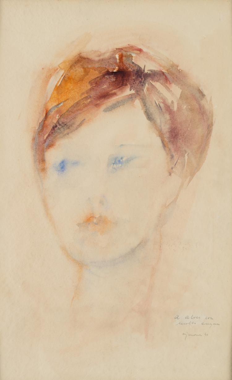 GIUSEPPE AJMONE (1923 - 2005) | Ritratto , 1960