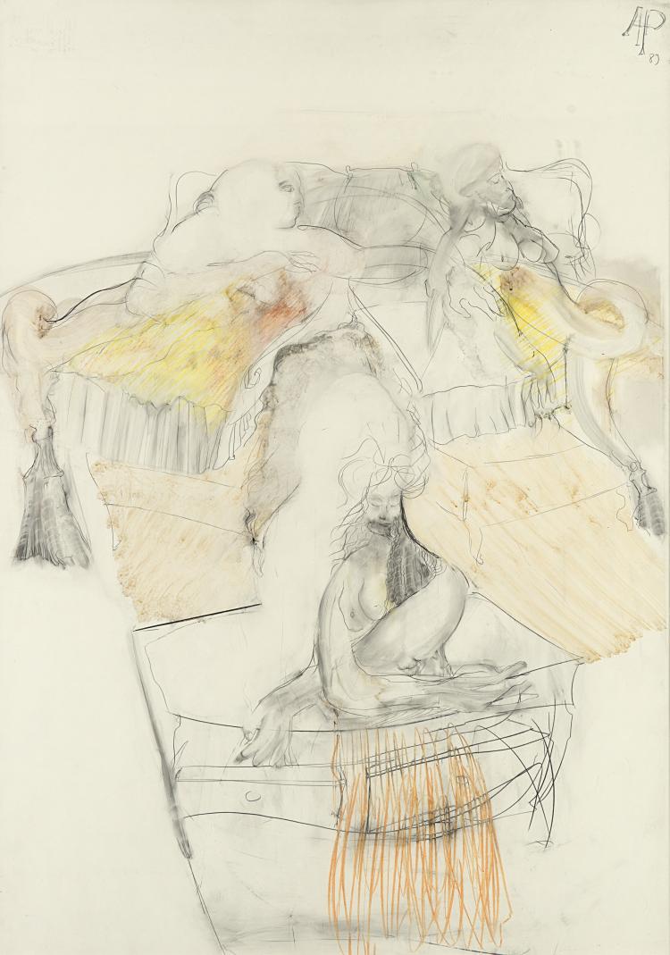 AUGUSTO PEREZ (1929 - 2000) | Senza titolo, 1989