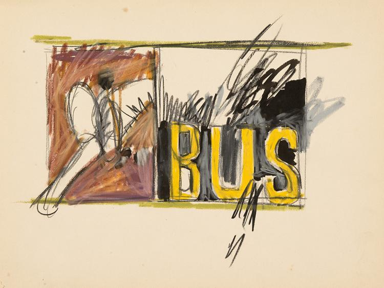 CLAUDIO CINTOLI (1935 - 1978) | Senza Titolo, 1964