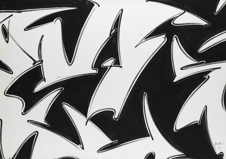 GIANNI ASDRUBALI | Senza titolo, 1988