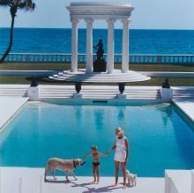 SLIM AARONS - Villa Artemis in Palm Beach, Florida, 1955