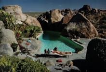 Slim Aarons (1916-2006) - Sunbathing in Arizona, 1967