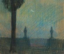 UBALDO OPPI - Notturno di Vicenza, 1912