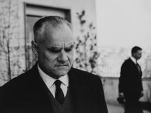 Mario Dondero (1928-2015) - Alberto Moravia, years 1960