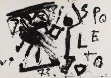 Emilio Vedova (Venezia 1919-2006) - Spoleto, 1973