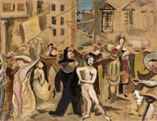 Louis Latapie (Tolofa 1891-Avignone 1972) - Carnevale, 1935