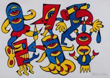 Pablo Echaurren (Roma 1951) - Figures