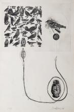 Valeriano Trubbiani (Macerata 1937) - Tre incisioni