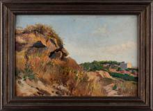 Fabio Cipolla (Roma 1852-1935) - Summer near the coast