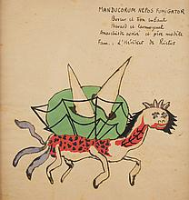 Georges HUGNET (1906-1974) - Manducorum Nepos Fumigator