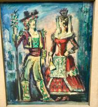 Pedro FLORES (1897-1967) - Couple