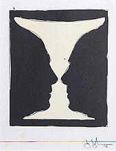 Jasper Johns Cups 2 Picasso Lithograph