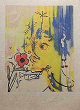 Salvador Dali Vanishing Face Hand Signed # Dali Archives Authentic