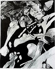 Original Lithograph by artist William Brice